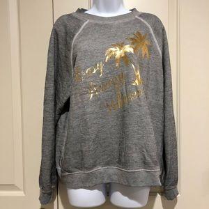 Wildfox Easy Breezy whatever Shirt Sweatshirt NWT